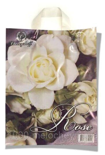 Пакет с петлевой ручкой маленький «Rose» (24*30) 25 шт