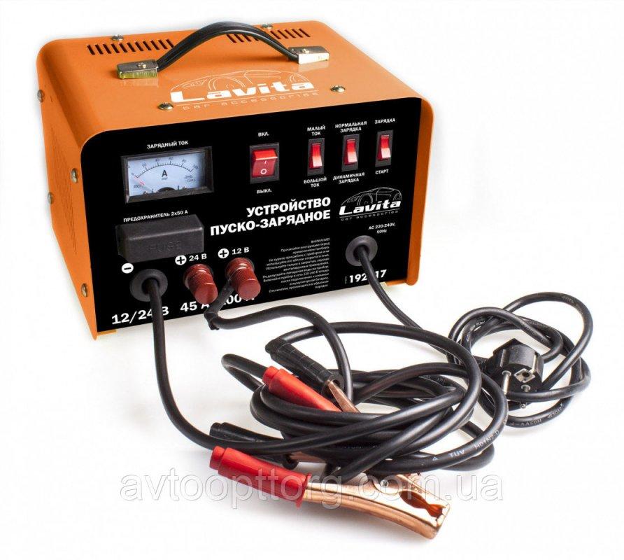 Купить Пуско-зарядное устройство 45/100 А, 12-24 В