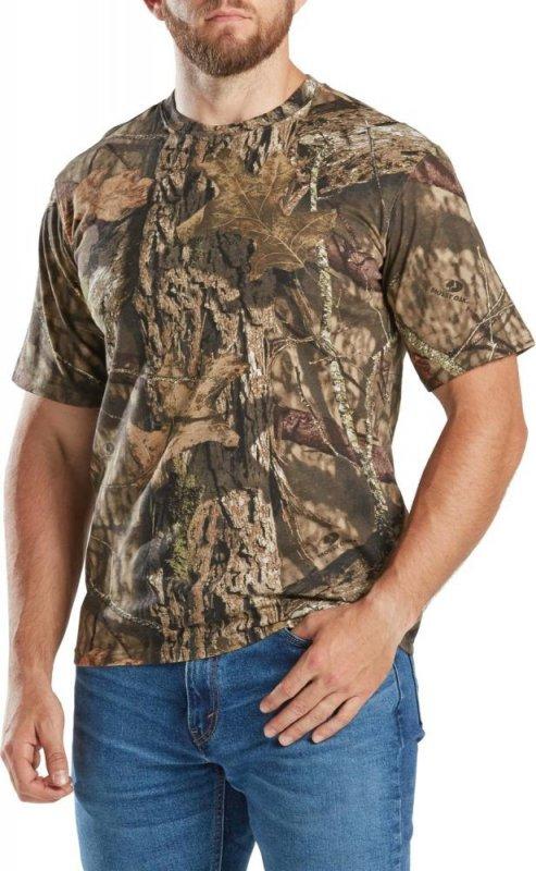 Футболка для охоты и рыбалки Magellan Outdoors Men's Hill Zone Short Sleeve T-shirt Mossy Oak Country
