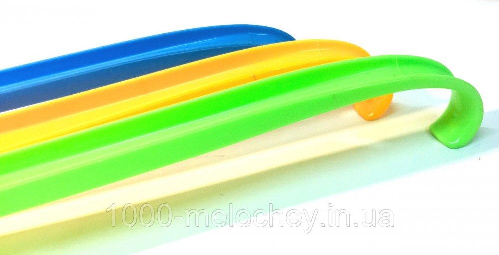 Лопатка, рожок для обуви пластик загнутый (60cm)
