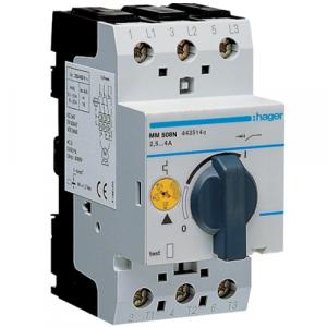 Купить Автомат защиты двигателя Hager MM501N 0,1-0,16A