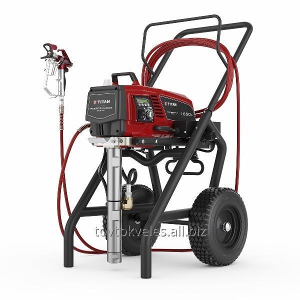Купить Аппарат покрасочный. Поршневой окрасочный агрегат Titan 1650e.