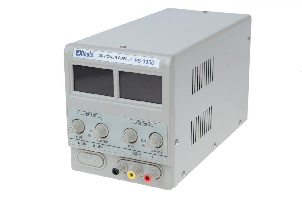 Купить Лабораторный блок питания Extools PS-305D, 30В, 5А