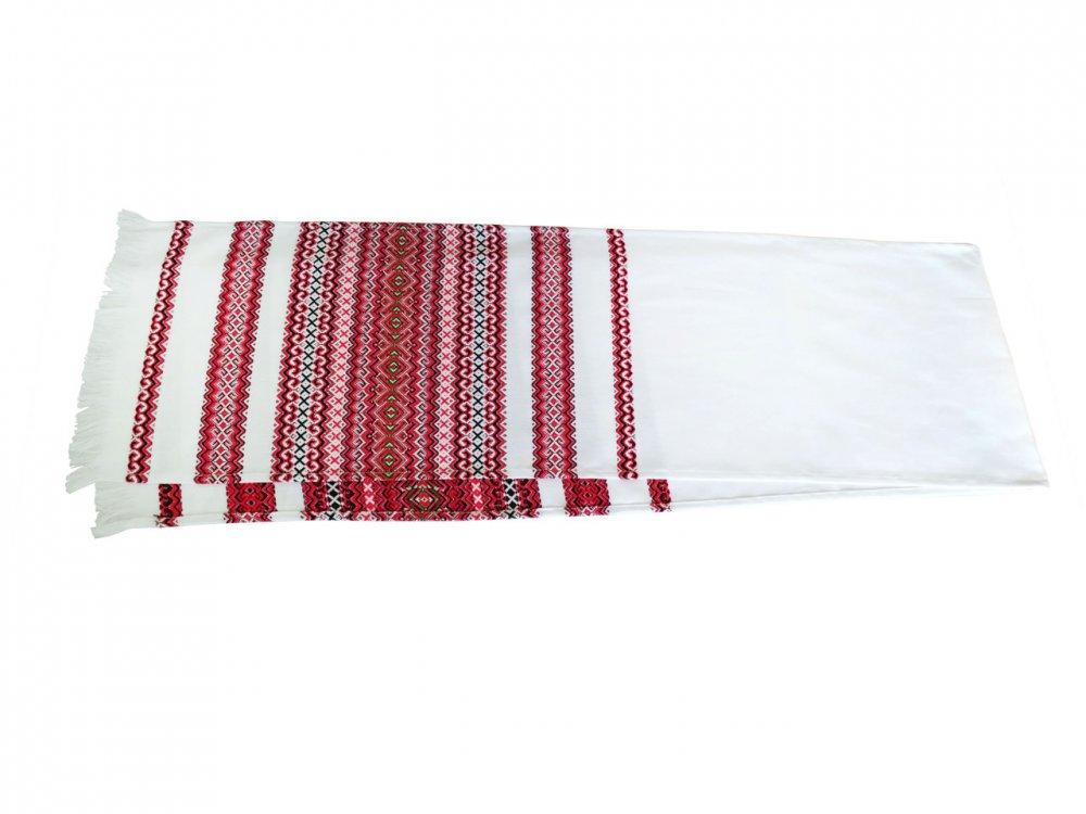 Купить Вышитый свадебный тканый рушник «Хлеб - соль» 135/33 см