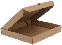 Упаковка картонная для пиццы.
