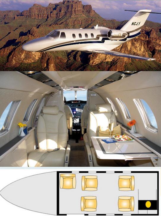 Аренда частного самолета Самолеты частные или бизнес-класса реактивные