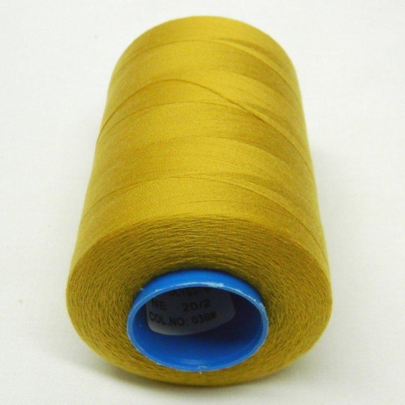 Армированные нитки Super 20/2 горчичные 5000 ярдов (6-2274-М-А038)