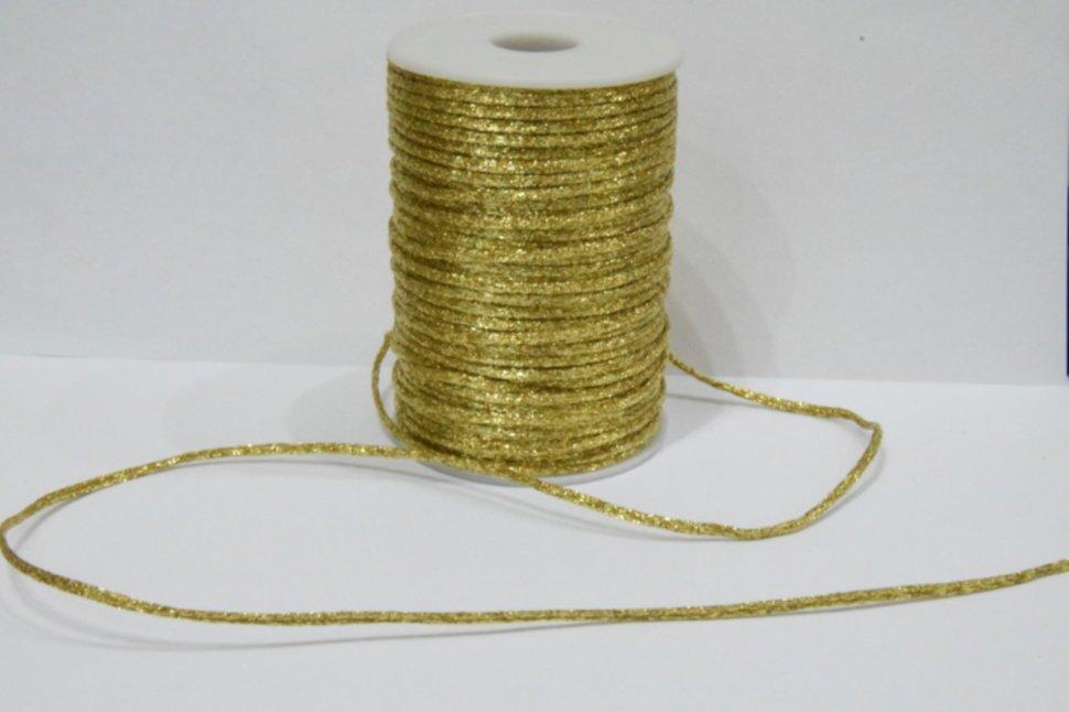 Корсетный шнур парчевый № G (UMG-0605)