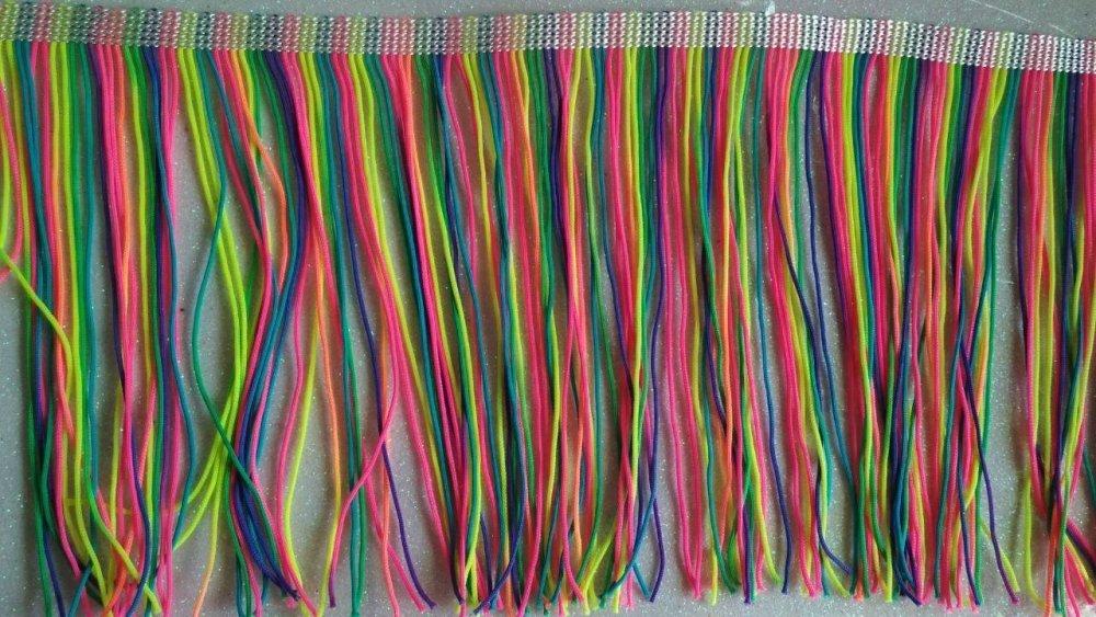 Бахрома для бальных платьев 15см х 20м -09 (657-Л-0195)