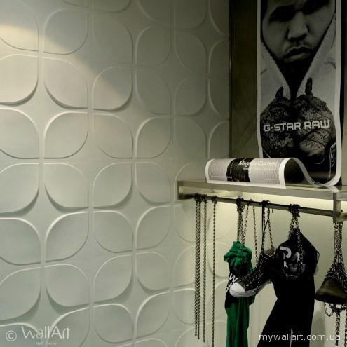 Купить Стеновая 3D панель МДФ