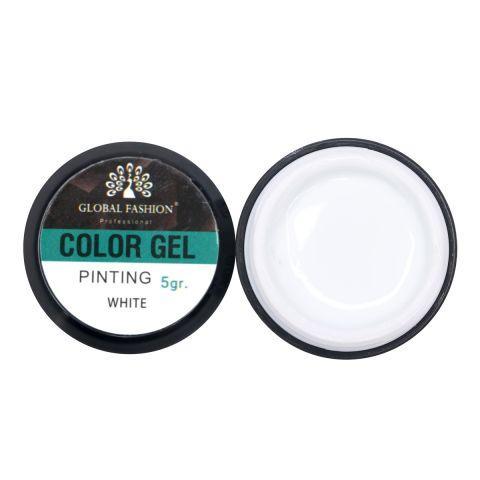 Купить Color gel Global Fashion 5мл, белый