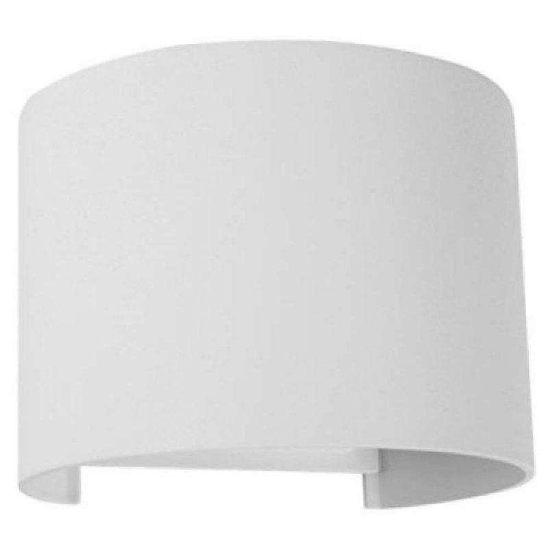 Купить Настенный светодиодный светильник DH013 2х3W белый с регулируемым углом свечения IP54 Код.59721
