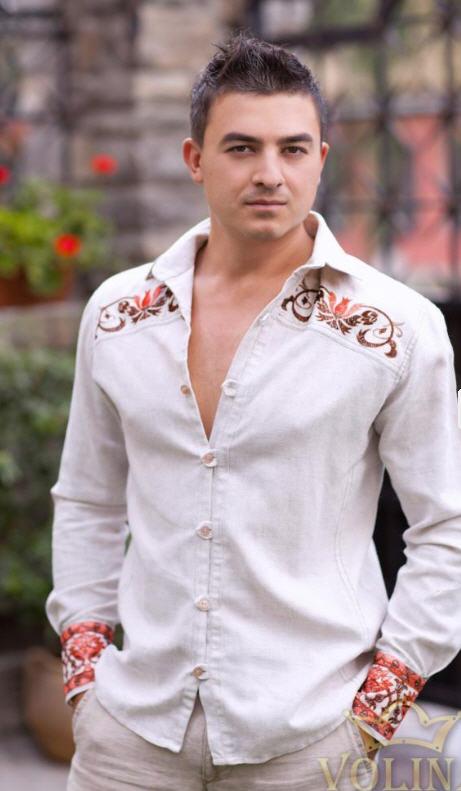 Современные вышивки на рубашку