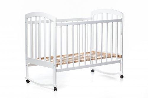Детская кроватка «LAMA» белая