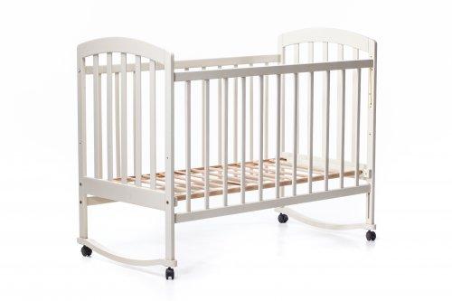 Детская кроватка «LAMA» ваниль