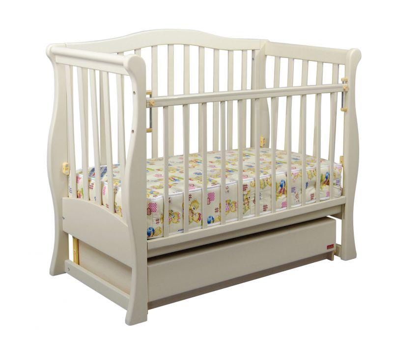 Детская кроватка «VIVA» premium белая