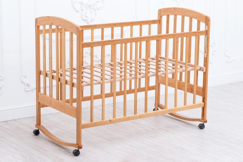 Детская кроватка «LAMA» Eco Style. Без покрытия лаком