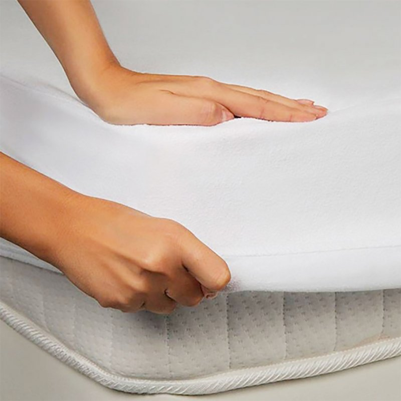 Купить Водонепроницаемая простынь на резинке 60х120 белый