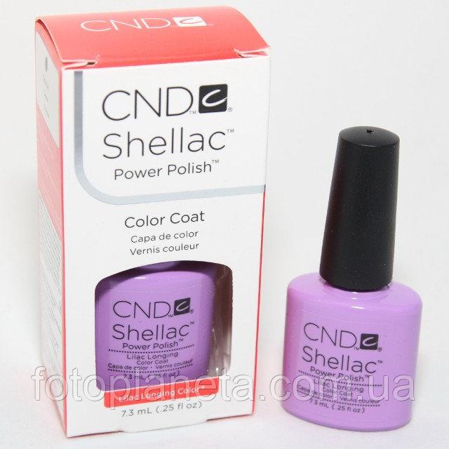 """Купить Гель-лак Shellac CND """"Lilac Longing"""""""