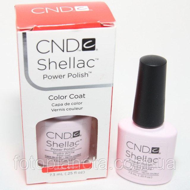 """Купить Гель-лак Shellac CND """"Studio White"""""""