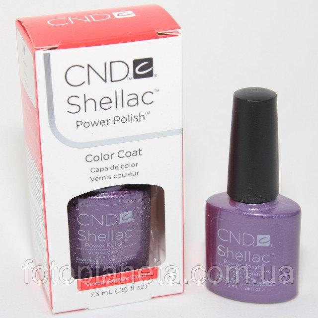 """Купить Гель-лак Shellac CND """"Vexed Violete"""""""