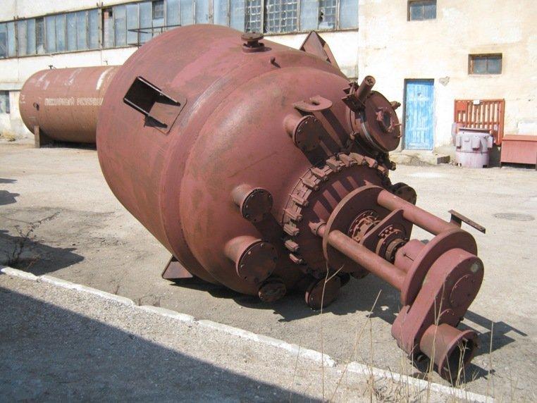 Реактор эмалированный на 6,3м.куб., Херсон