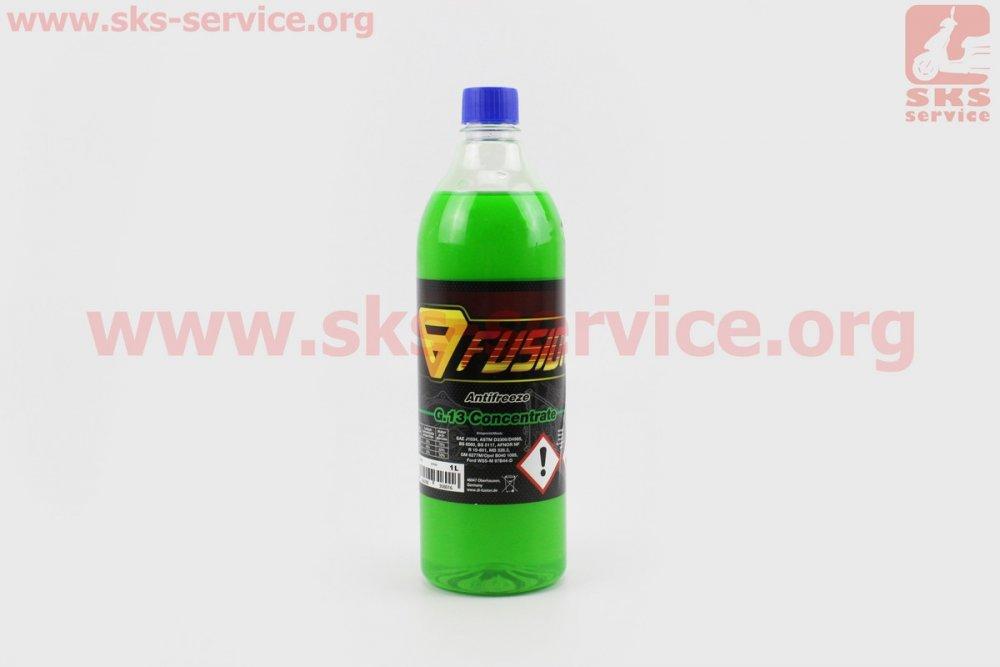 Купить АНТИФРИЗ G13 концентрат 1:1 зеленый, 1л