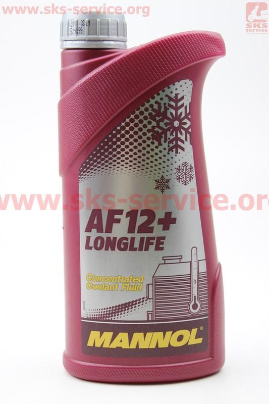 Купить АНТИФРИЗ AF12 концентрат 1:1 красный, 1л
