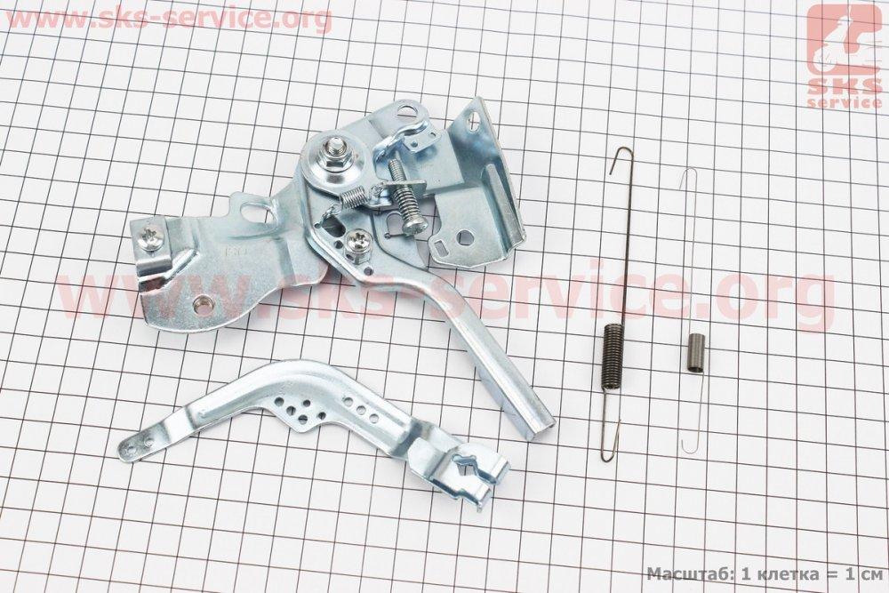 Купить Регулятор газа (механизм управления дроссельной заслонкой) 168F/170F Тип №3 для мотоблока