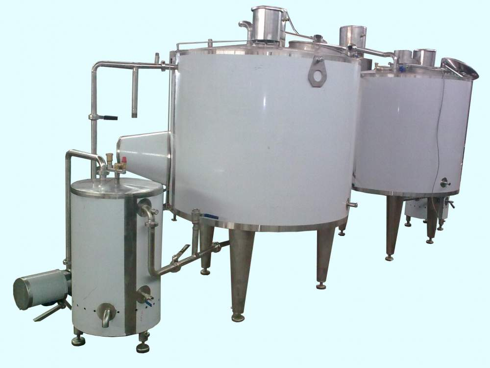 Equipment for the food industry. Vann for melting of fat to buy Poltava, Ukraine.