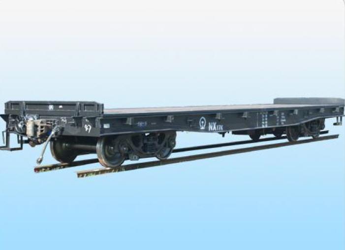 Купить Платформы железнодорожные (Вагон-платформа для контейнеров NX17K)