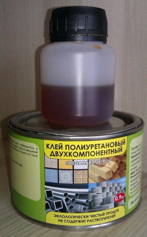 Клей полиуретановый «Megahard 2K-PU»