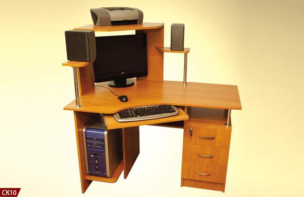 Столик компьютерный угловой
