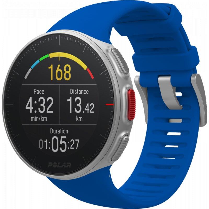 Купить Мультиспортивные часы Polar Vantage V Blue p.M\L (PL-90080283-blue), синий