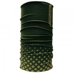 Купить Шарф-труба для бега Fitletic Multi Scarf Headwear (FL-MSF-SPK06-green), зеленый