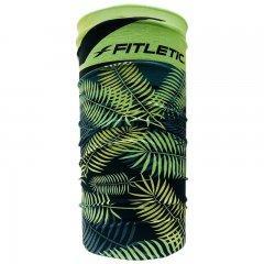 Купить Шарф-труба для бега Fitletic Multi Scarf Headwear (FL-MSF-AMZ06-green-leaf), салатовый