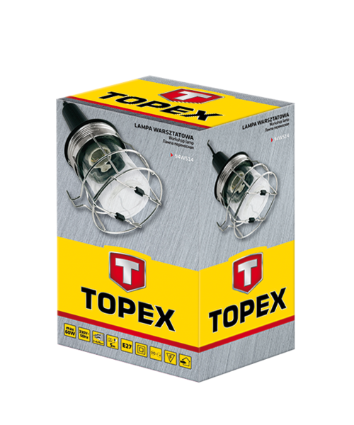 Купить Лампа переносная с металлическим корпусом TOPEX 94W514