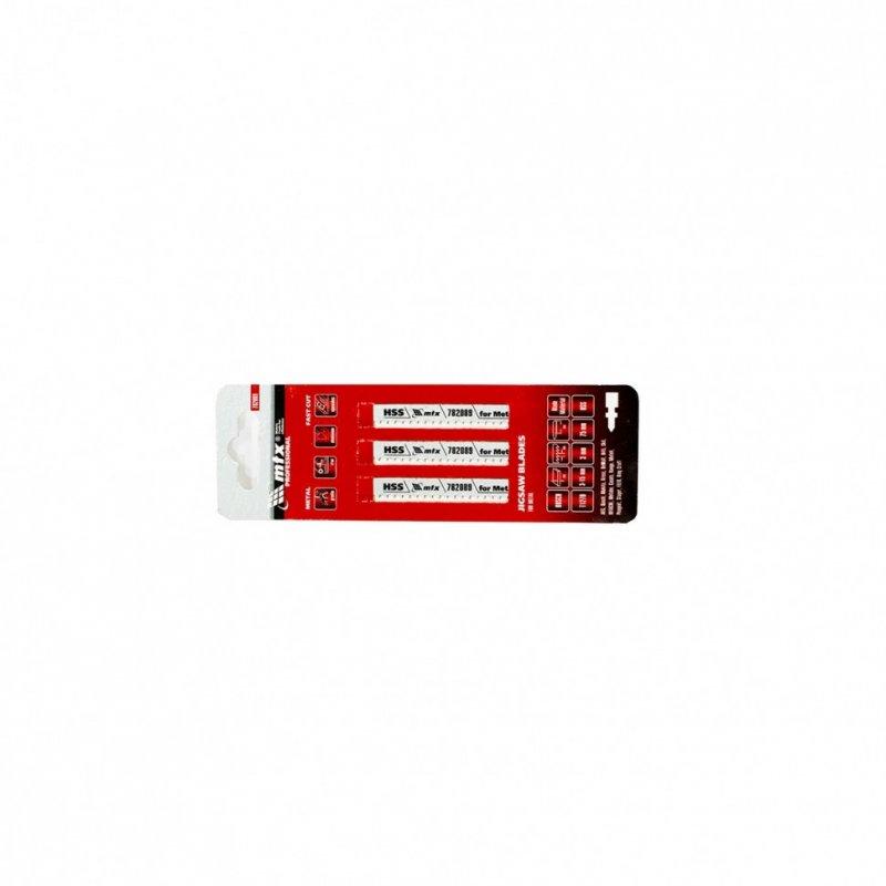 Купить Полотна для электролобзика по металлу, 3 шт. T127D, 75 х 3 мм, HSS // MTX PROFESSIONAL 782089