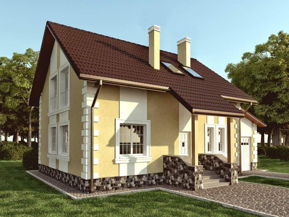 Проекти типові будинків і котеджів в