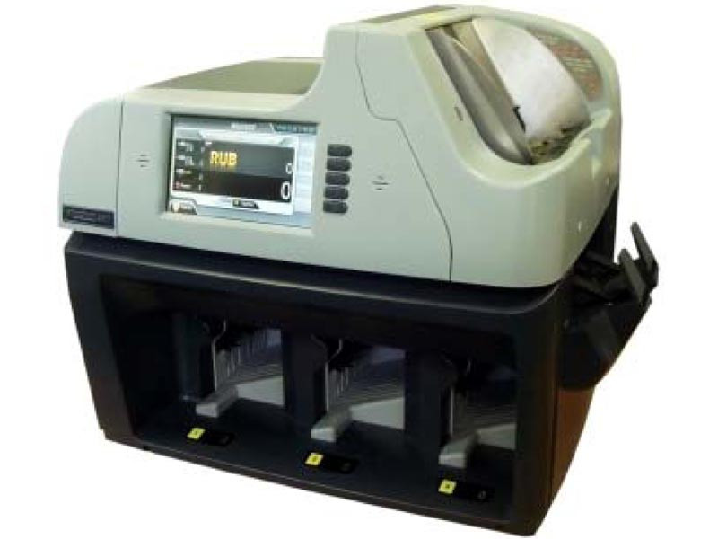Купить Magner 350 Трехкарманный сортировщик валюты с функцией ветхования