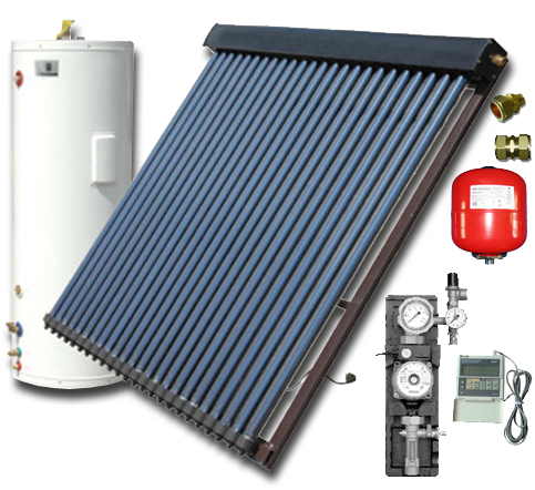 Buy Solar systems of active type on 200 liters in Ukraine to Buy, the Price, the Ph