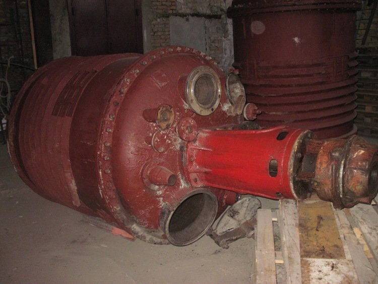 Реактори нержавіючі на 3,2м.куб., Херсон