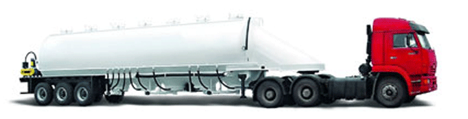 Buy Kombikormovoz 964814 semi-trailer three-axis is intended for unpacked transportation of compound feeds.