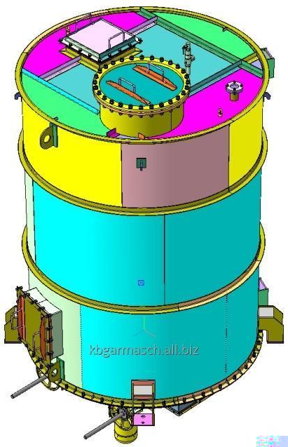 Бункер-ворошитель для энергетического комплекса по выработке электроэнергии на биотопливе БВ-28-15(30)