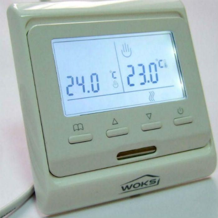 Купить Терморегулятор программируемый Woks M 6.716 кнопочный