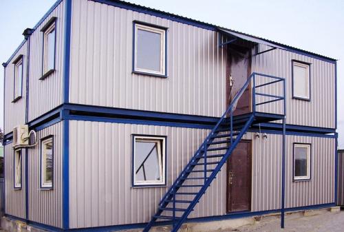 Купить Здания модульные быстровозводимые. Строительство быстровозводимых зданий из металлоконструкций, с использованием термопрофилей и ЛСТК.