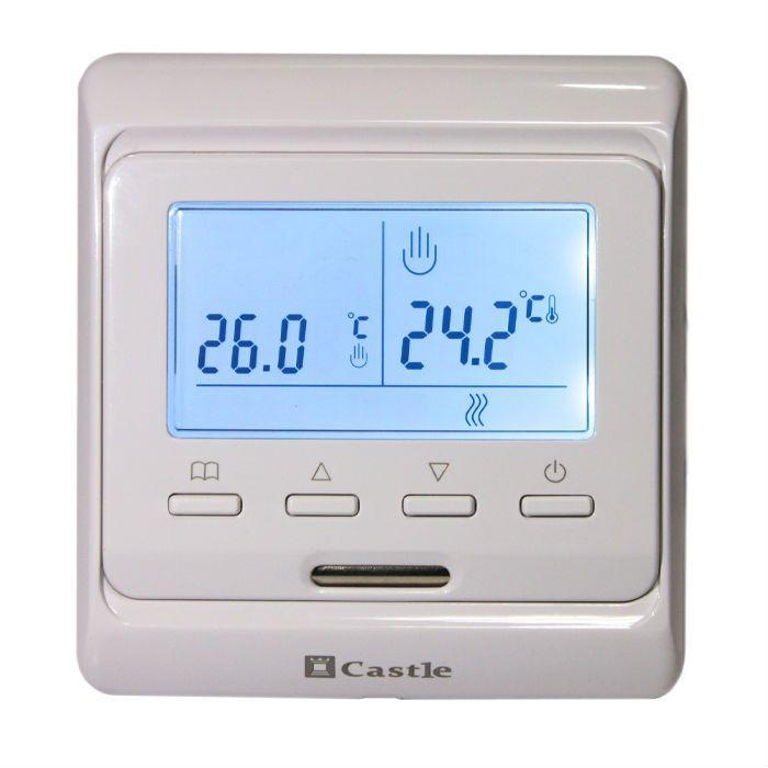 Купить Терморегулятор программируемый Castle M 6.716 кнопочный