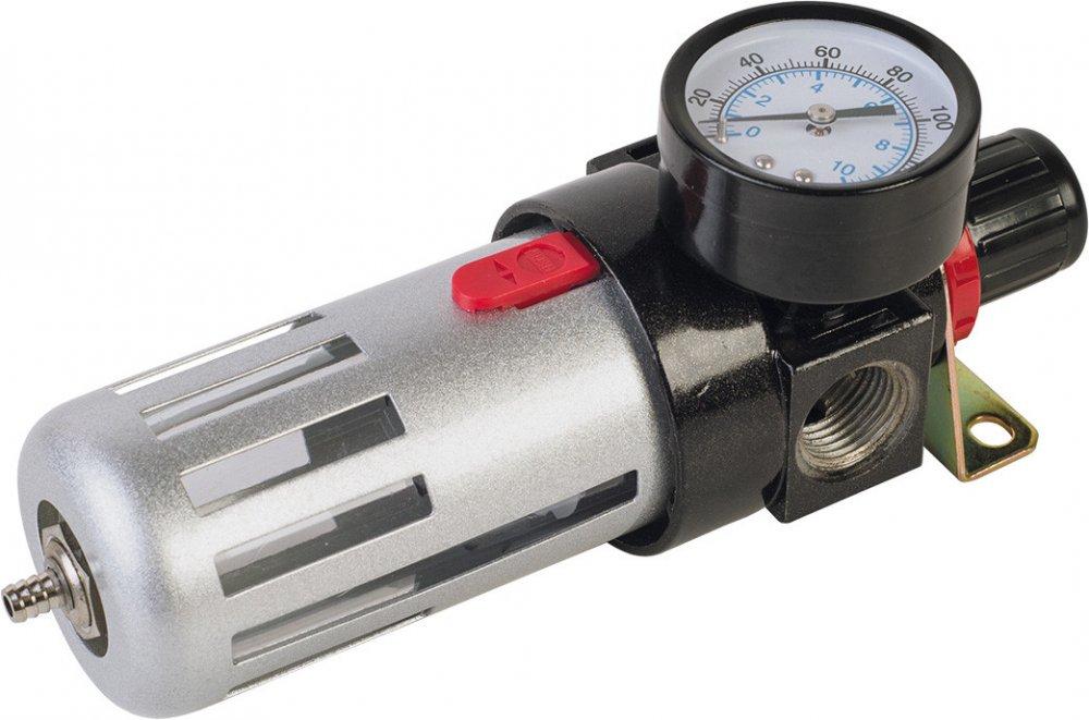 Купить Фильтр воздушный с редуктором и манометром 1/2' Миол 81-422