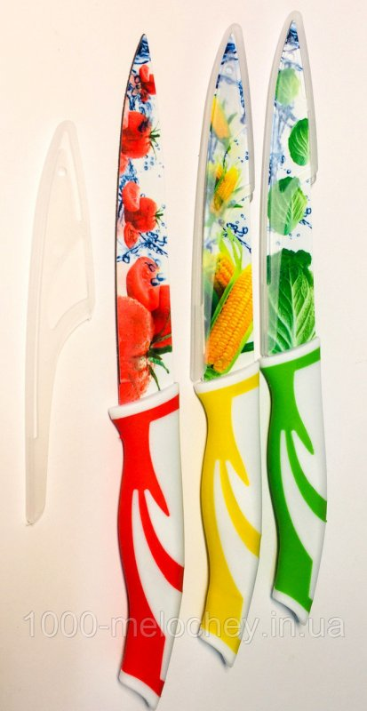 Нож кухонный металлокерамический 24 средний White Swan (240 mm)