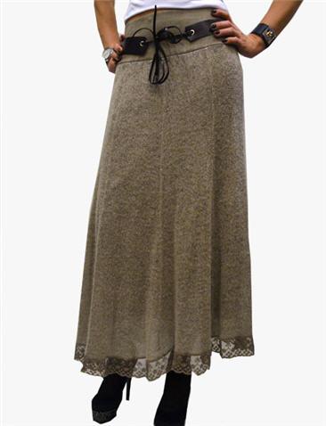 Теплые юбки макси купить